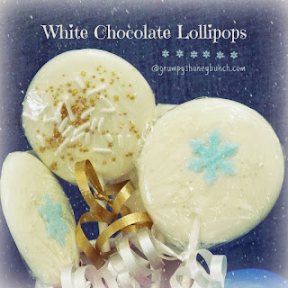 White Chocolate Lollipops.