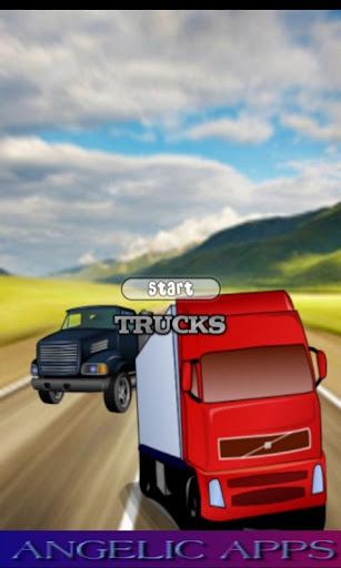 Trucks Match Race Game - Free