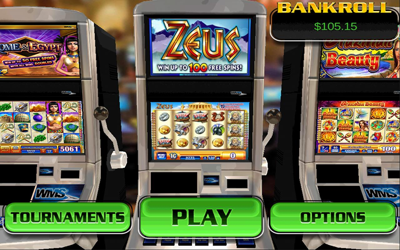 Zeus - HD Slots - screenshot