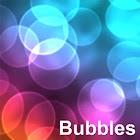 Bubbles live wallpaper icon