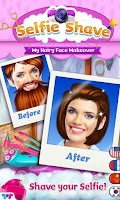 Screenshot of Selfie Shave -My Face Makeover
