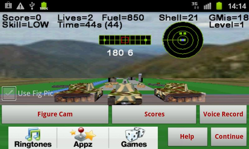 Armour Battle Tank - screenshot