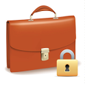 App Briefcase + (App  Lock) icon