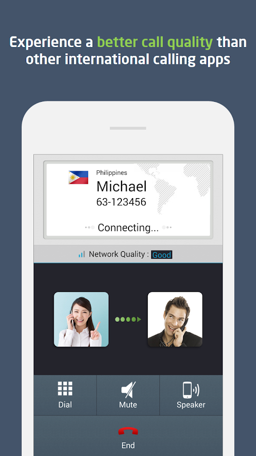 Global Call : Free $0.3, Topup - screenshot