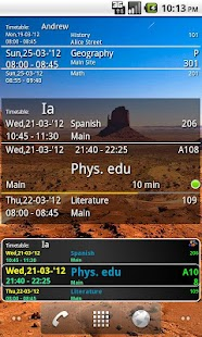 Student Timetable Helper - screenshot thumbnail