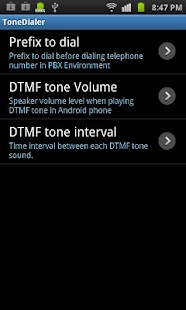 DTMF tone Dialer - screenshot thumbnail
