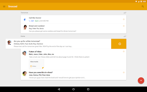 Inbox by Gmail - screenshot thumbnail