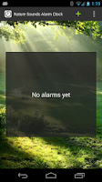 Screenshot of Nature Sounds Alarm Clock