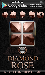 玩生活App|GO Locker Diamond Rose免費|APP試玩