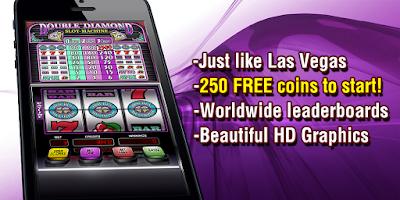 Screenshot of Double Diamond Slot Machine