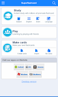 Screenshot of VTNE Flashcards
