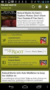 Roland Martin: The Root 100 - screenshot thumbnail