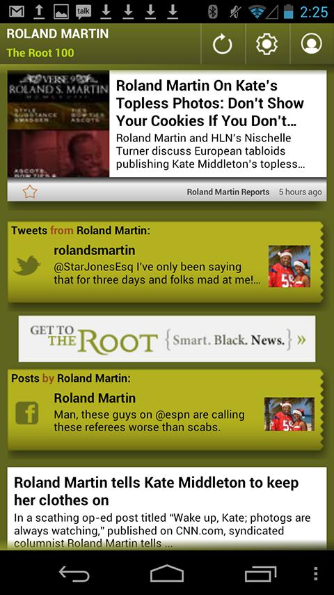 Roland Martin: The Root 100 - screenshot