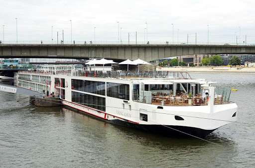 Viking-Alsvin-Cologne - The river cruise ship Viking Alsvin in Cologne, Germany.