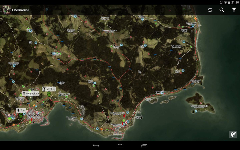 Приложения на Google Play – iZurvive - Карта для DayZ