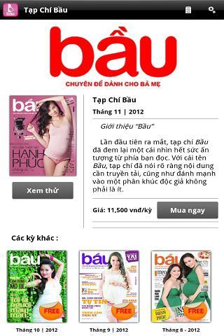 玩免費新聞APP|下載Tạp Chí Bầu app不用錢|硬是要APP