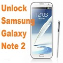 Unlock Samsung Galaxy Note 2 icon