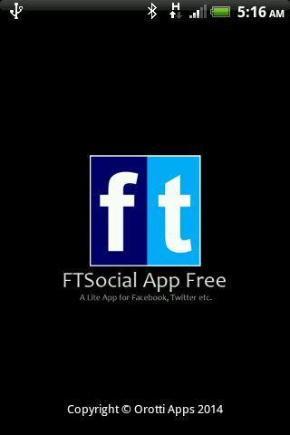 Lite app for Facebook