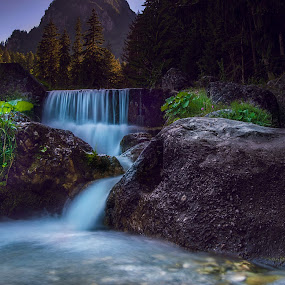 Small river  by Petrea Ionut - Landscapes Waterscapes ( mountains, trees, forest, landscape, rocks, river,  )