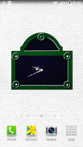 Plaque de Paris Simple