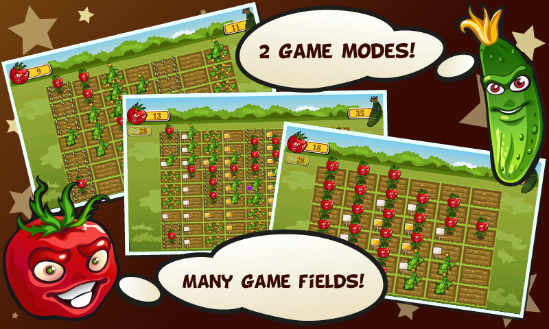 Garden Troopers - puzzle game! - screenshot