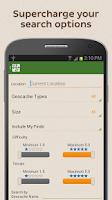 Screenshot of Geocaching