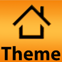 LauncherPro Theme Orange Slate logo