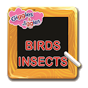 Birds & Insects for UKG Kids