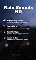 Screenshot of Rain Sounds HD