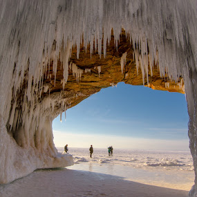 by Gary Hanson - Nature Up Close Other Natural Objects ( splash, ice, caves,  )