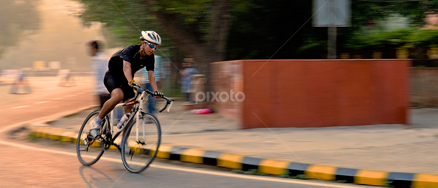 the dreamer by Pushkar Raj Sharma - Sports & Fitness Cycling