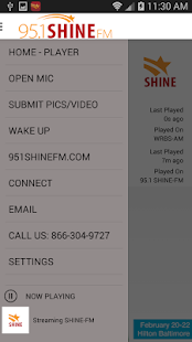 95.1 SHINE- screenshot thumbnail