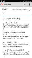 Screenshot of App Dragon App Lister