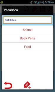 vocaboca - learn vocabulary - screenshot thumbnail