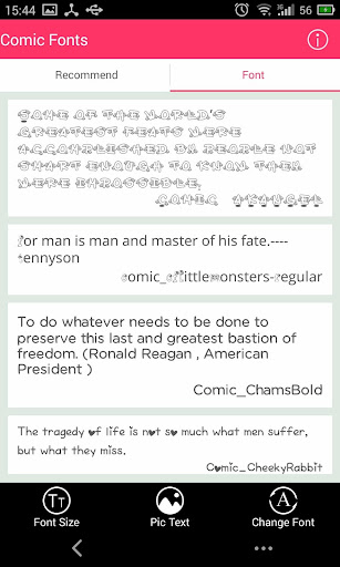 Free Font - Comic