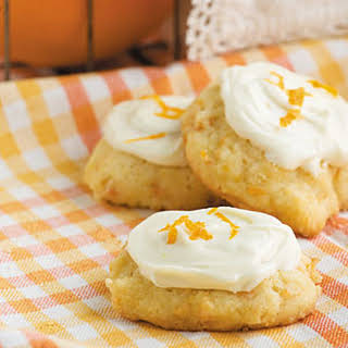 Iced Carrot Cookies.