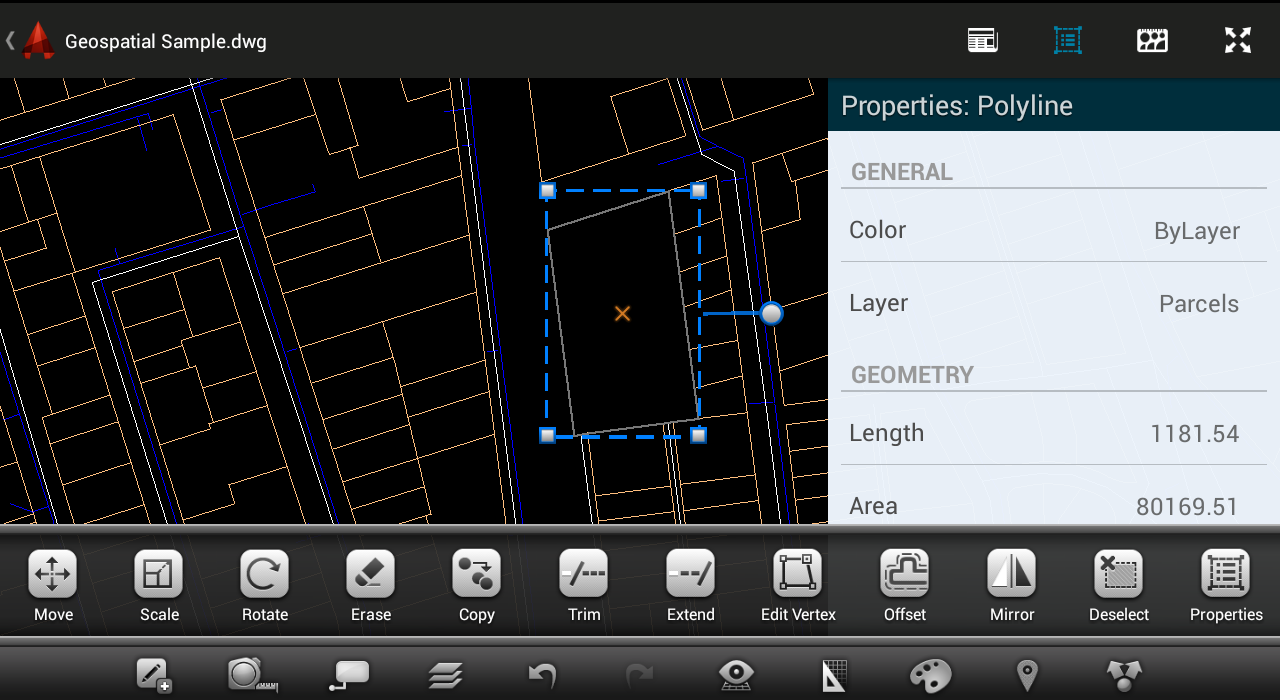 AutoCAD 360 - screenshot