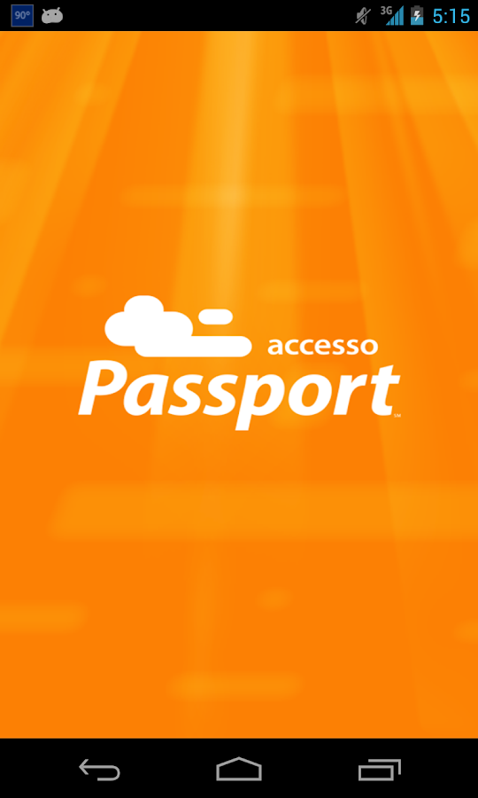Accesso Passport - screenshot