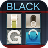 Black GO LauncherEX Theme