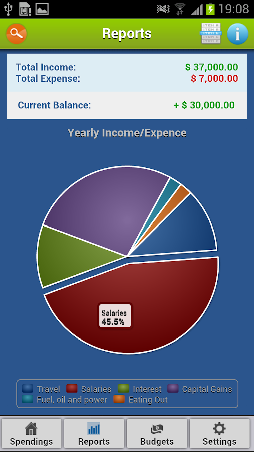 Zeal Money Tracker - screenshot