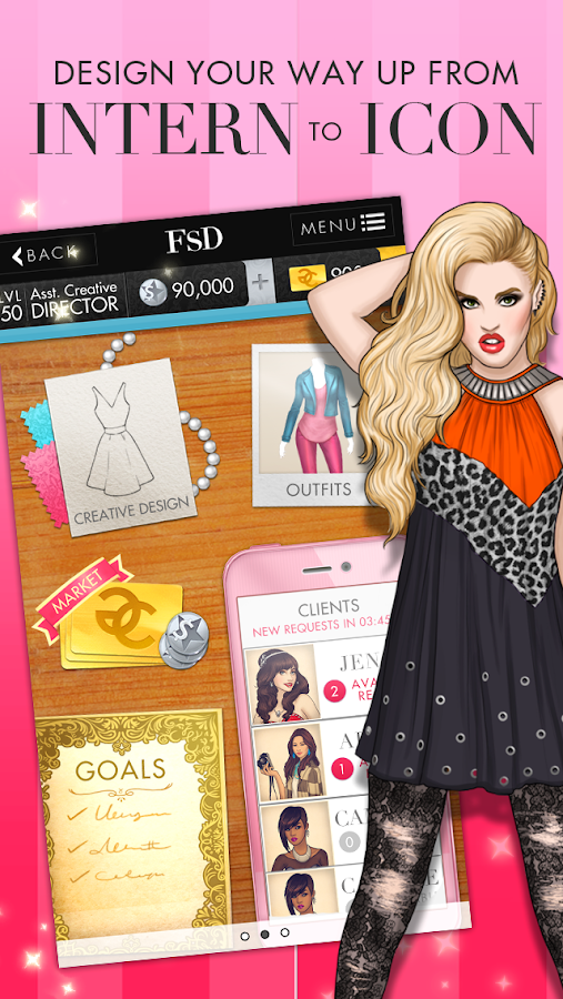 Fashion Star Designer - screenshot