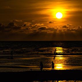 BOLINAO SUN SET by Aries Quiambao - Landscapes Sunsets & Sunrises