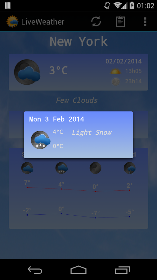 Live Weather Pro - screenshot
