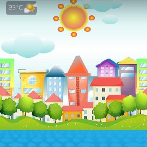 香港天氣動態桌布 天氣 LOGO-阿達玩APP