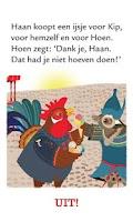 Screenshot of haan kip en hoen, prentenboek
