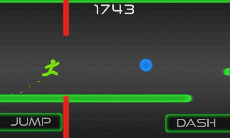 Free Running Dash - screenshot
