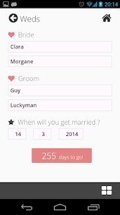Weddy Free (Wedding Planner)- screenshot thumbnail