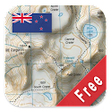 New Zealand Topo Maps Free logo