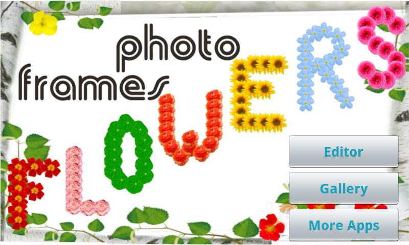Flower Photo Frames- screenshot