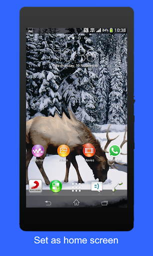 Winter 3D Live Wallpaper